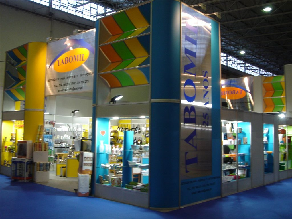 Tabomil – Stand Design