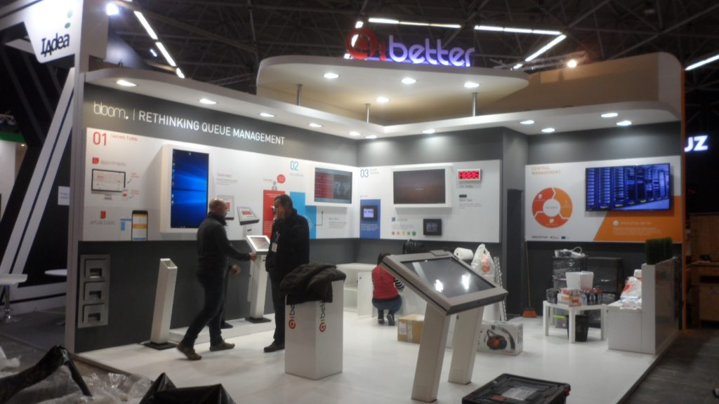 Stand Qi Better – ISE Amesterdão