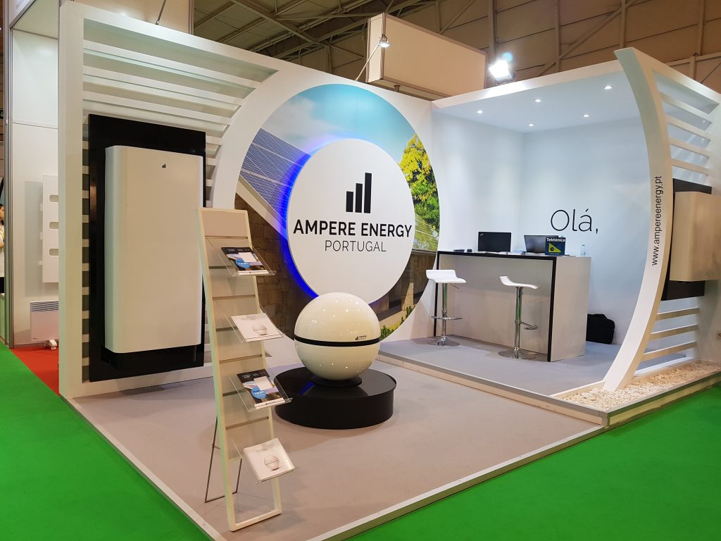 Ampere Energy Stand Design